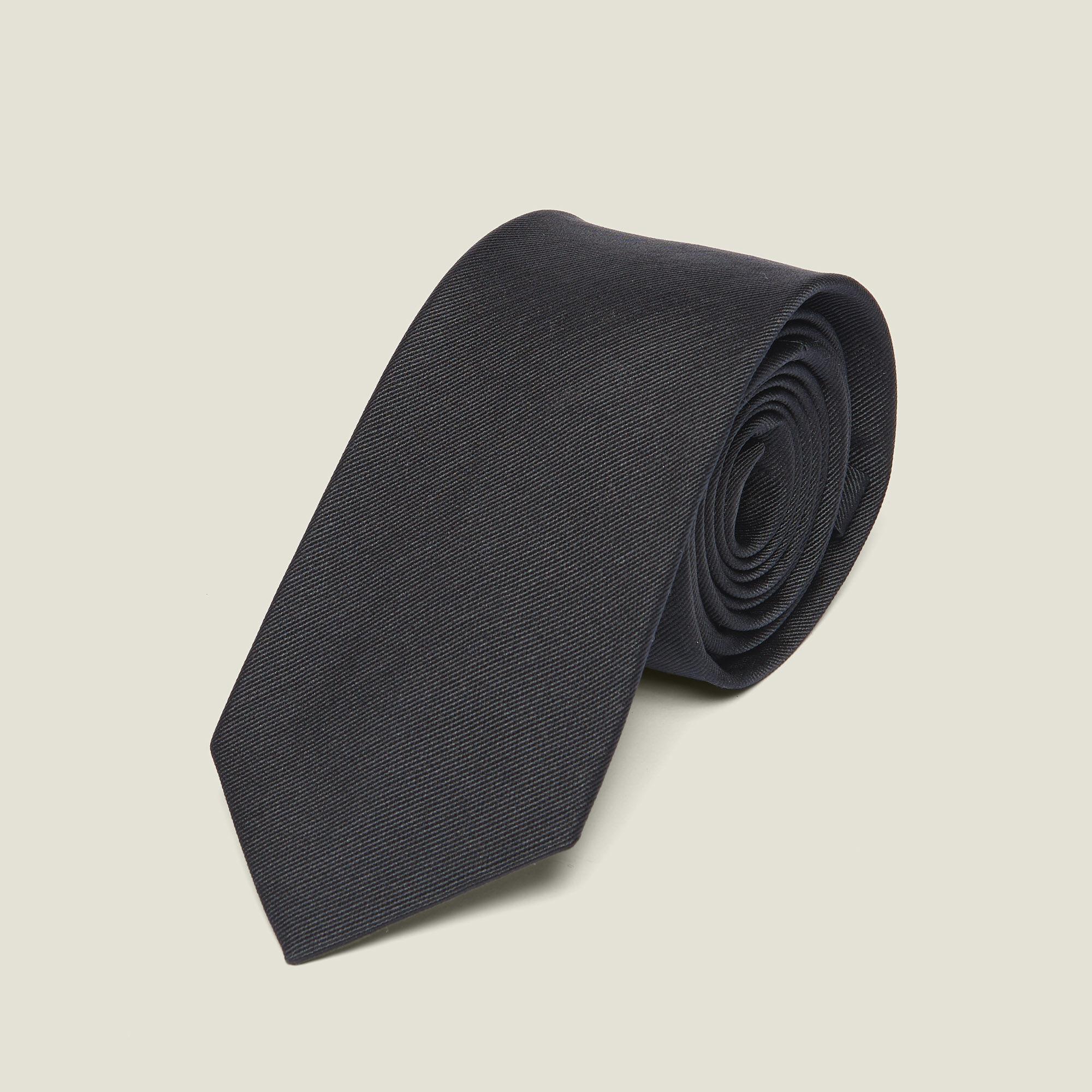 Classic silk twill tie - Sandro - Modalova