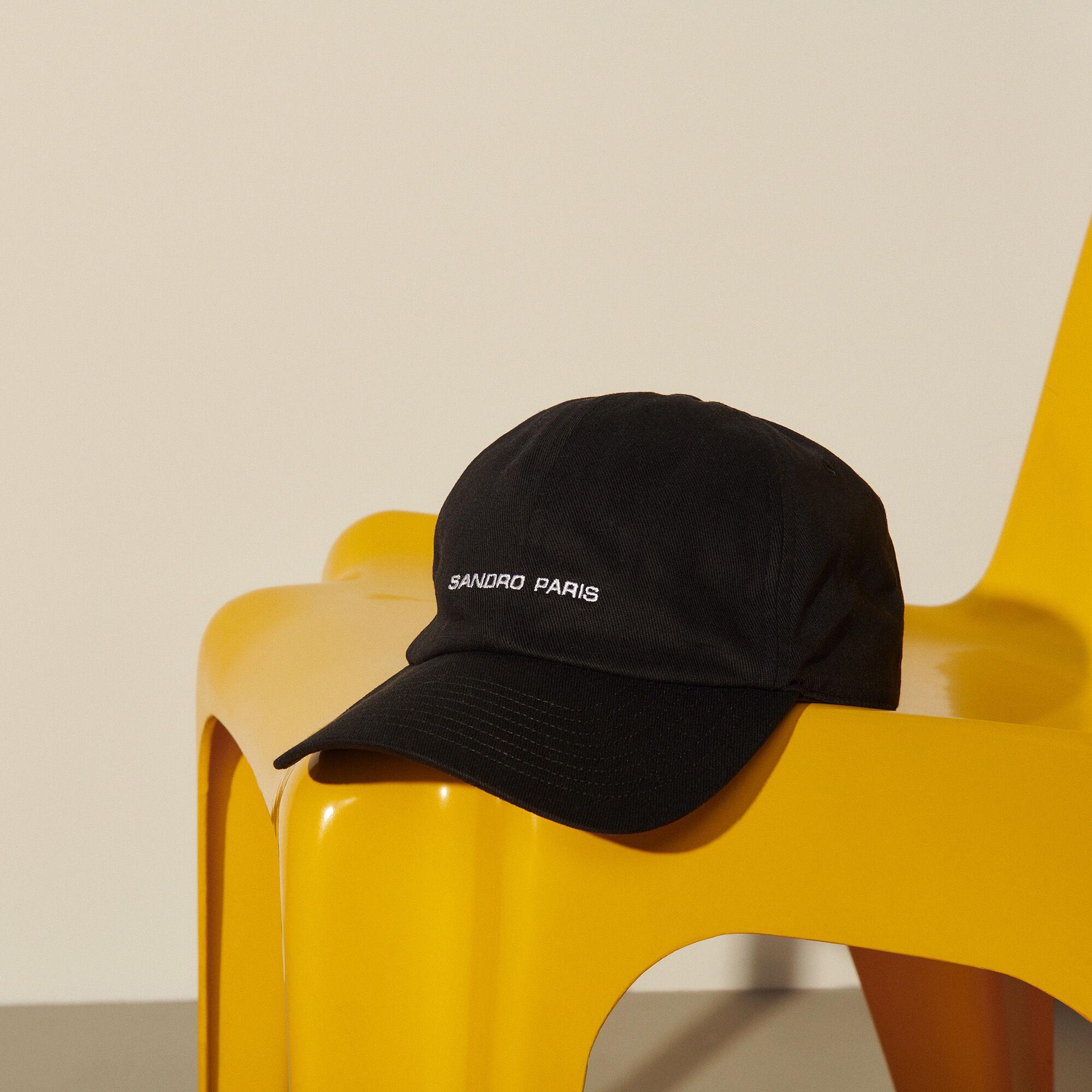 Cap with logo embroidery - Sandro - Modalova