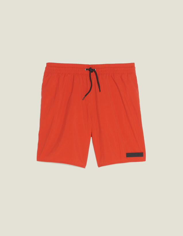 Short Swim Shorts : Soak up the sun color Orange