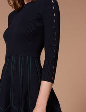 Knit Dress : Dresses color Deep Navy
