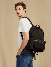 Technical Material Backpack : All Leather Goods color Black