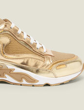 Flame trainers : All Shoes color Full Gold