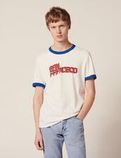 Slogan T-Shirt : LastChance-RE-HSelection-Pap&Access color white