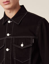 Denim Canvas Jacket : Sélection Last Chance color Black
