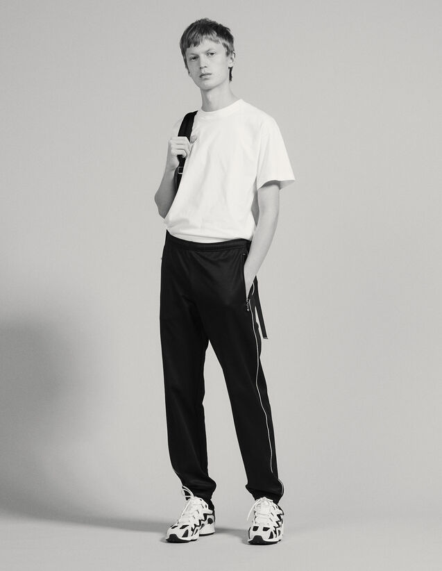 Track Pant Style Jogging Bottoms : All selection color Black