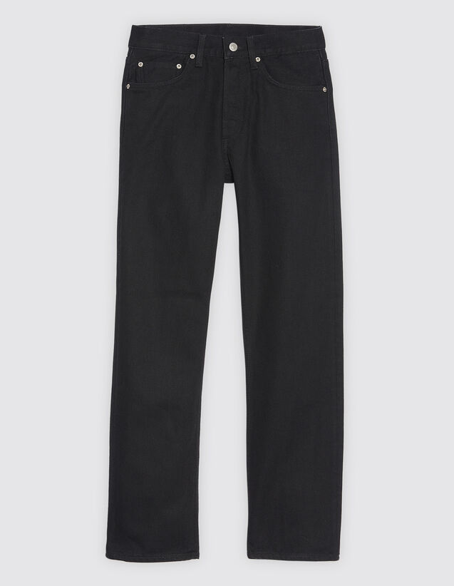 Black Jeans With Five Pockets by Sandro Paris