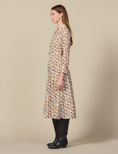 Cowboy boot print shirt dress : Dresses color Multi-Color
