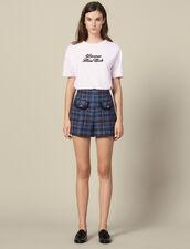 Tweed Shorts : LastChance-ES-F40 color Multi-Color