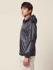 Hooded Windbreaker : Sélection Last Chance color Grey