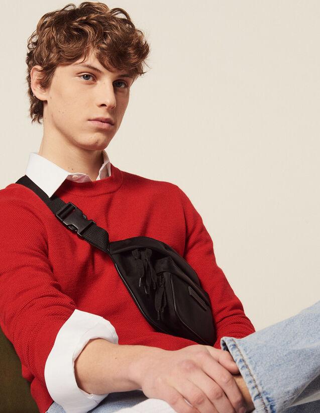 Fine Fancy Stitch Sweater : Sélection Last Chance color Red