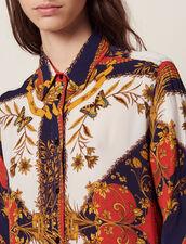 Long-Sleeved Printed Shirt : Printed shirt color Multi-Color