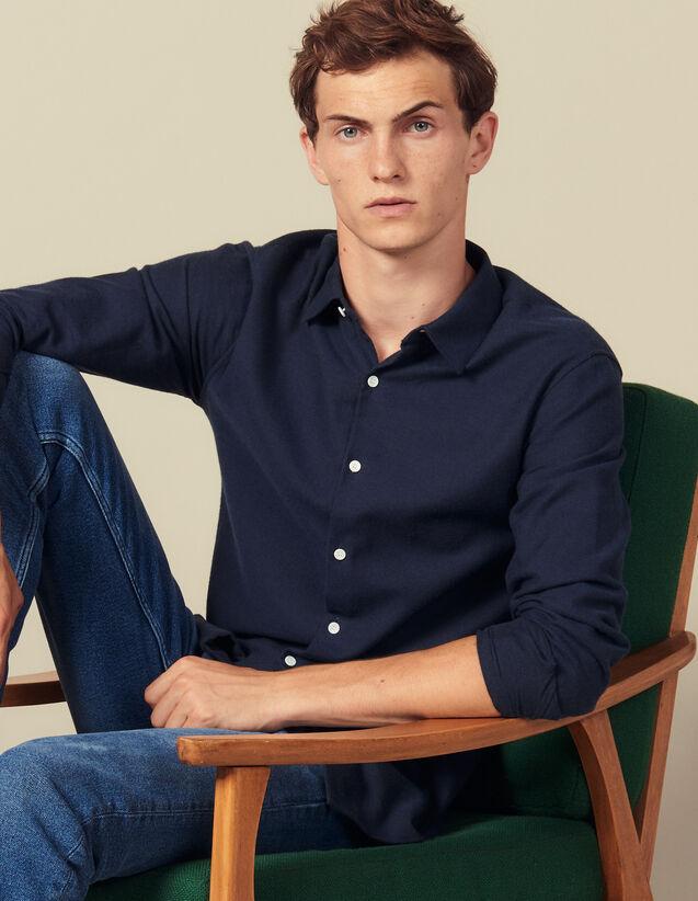 Flannel shirt : Shirts color Ecru
