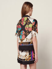 Short-Sleeved Printed Shirt : null color Multi-Color
