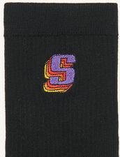 Logo socks : Socks color Black