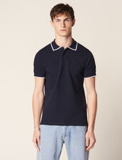 Liner Polo Shirt : LastChance-RE-HSelection-Pap&Access color Navy Blue