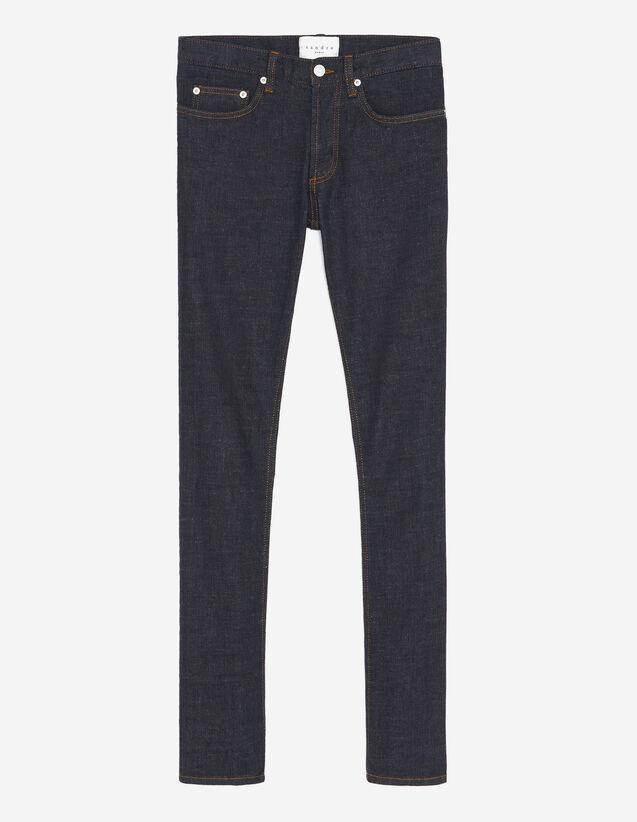 Raw Jeans - Narrow Cut : Jeans color Raw-Denim