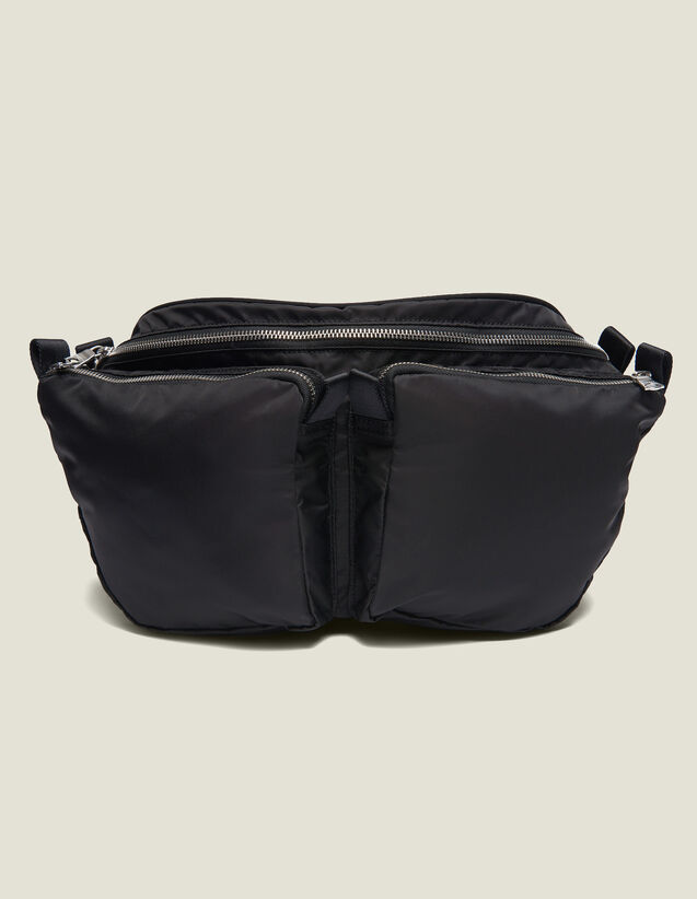 Belt Bag : All Leather Goods color Black