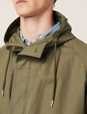 Faded Cotton Parka : LastChance-RE-HSelection-Pap&Access color Olive Green