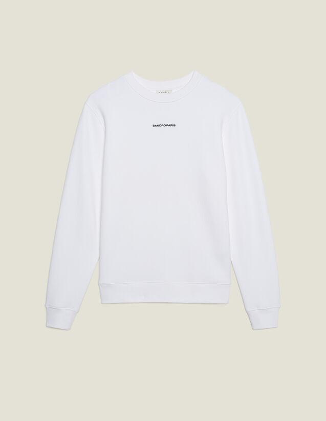 Sandro Crew Sweatshirt #2 : Sweatshirts color white