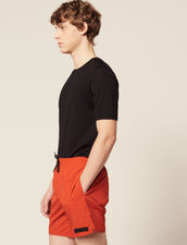 Short Swim Shorts : Soak up the sun color Orange