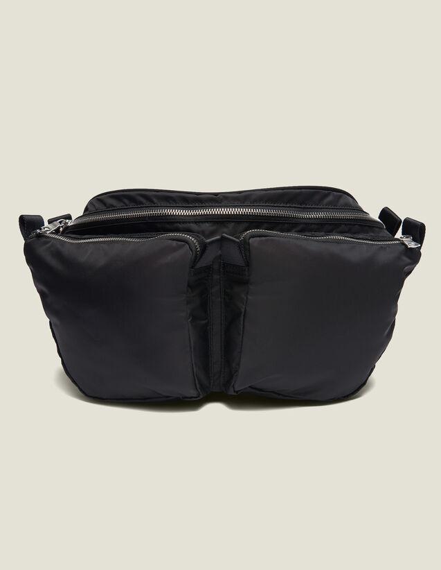 Belt Bag : All Leather Goods color Black