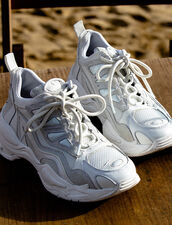 Astro Trainers With Graphic Soles : LastChance-ES-F40 color white