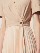2-In-1 Wrap Dress : LastChance-FR-FSelection color Nude