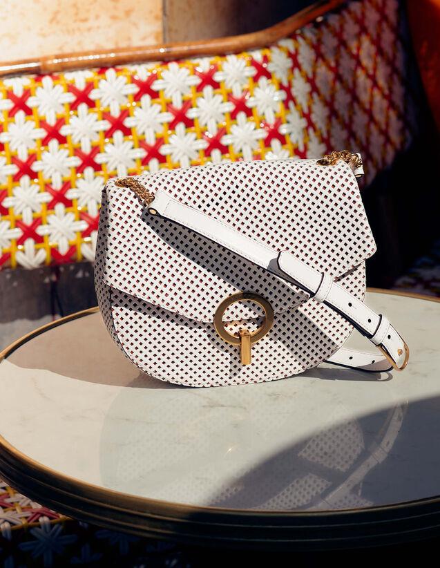 Pépita Bag, Medium Model : All Bags color white