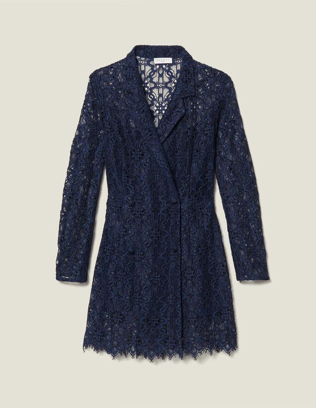 Lace Coat Dress by Sandro Paris
