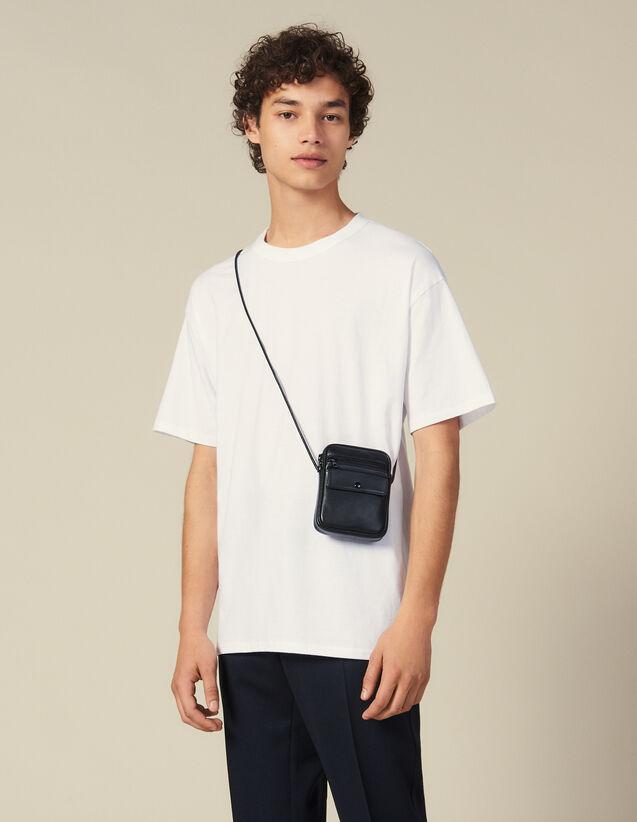 Cotton T-Shirt : Winter Collection color Black