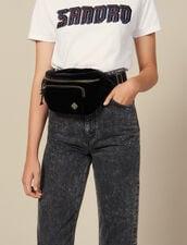 Velvet Banana Bag : All Bags color Black