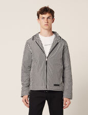 Gingham Jacket : Blazers & Jackets color Black