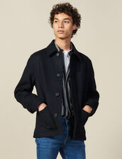 Woolcloth Jacket : Blazers & Jackets color Camel