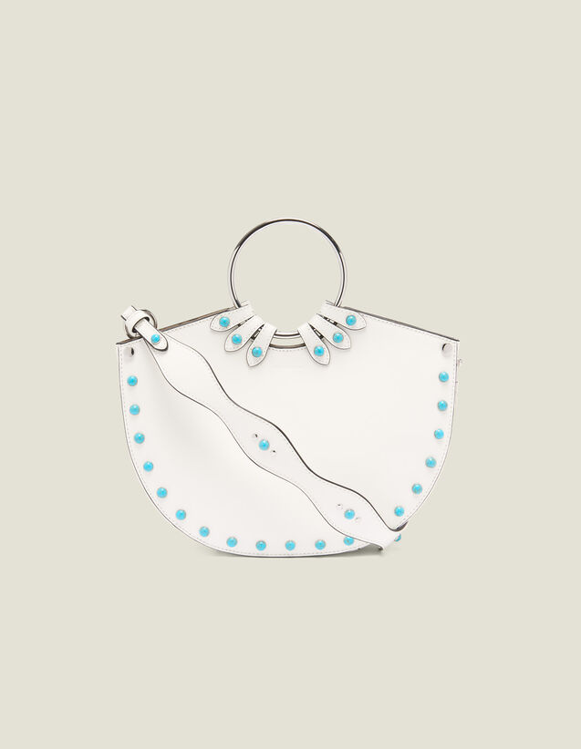 Ring Bag For Carrying Two Ways : null color white