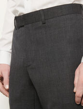Suit trousers : Suits & Tuxedos color Mocked Grey