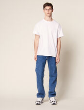 Cotton Oversized T-Shirt : SOLDES-CH-HSelection-PAP&ACCESS-2DEM color white