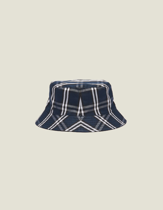 Reversible Technical Fabric Hat : Sélection Last Chance color Navy Blue