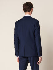 Mohair Wool Suit Jacket : Suits & Tuxedos color Blue