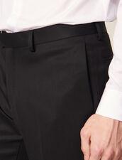 Grain De Poudre Tuxedo Trousers : Suits & Tuxedos color Black