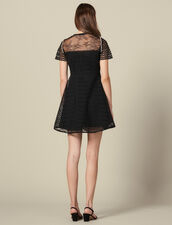 Guipure skater dress : Copy of VP-FR-FSelection-Robes color Black