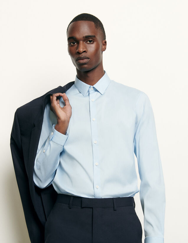 Slim-fit classic shirt : Shirts color Sky Blue