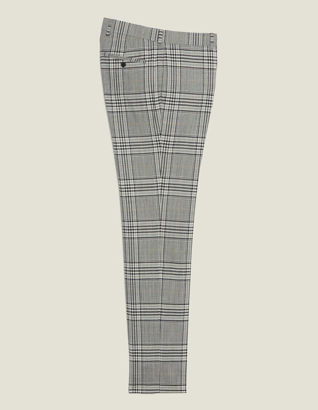 Classic Suit Trousers : Sélection Last Chance color Grey