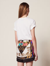 Printed Shorts : Skirts & Shorts color Multi-Color