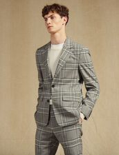 Classic Suit Jacket : Suits & Tuxedos color Grey