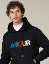 Hoodie With Amour Patch : LastChance-IT-H30 color Black