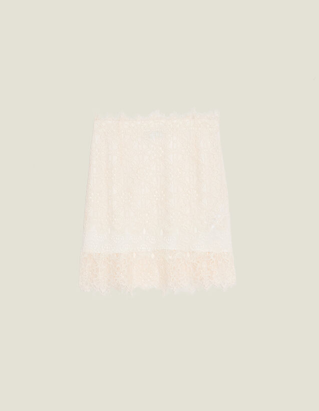 Short Lace Skirt : Skirts & Shorts color Nude