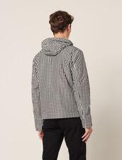 Gingham Jacket : SOLDES-CH-HSelection-PAP&ACCESS-2DEM color Black