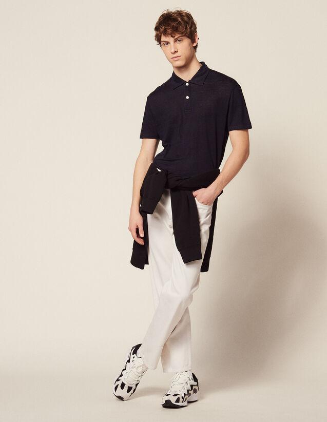 9fc7ce307 T-shirts   Polo shirts for Man - Discover Sandro Paris T-shirts ...
