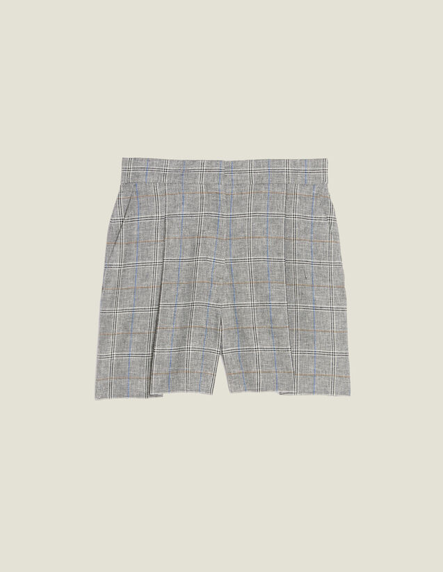 Checked Shorts : LastChance-FR-FSelection color Grey