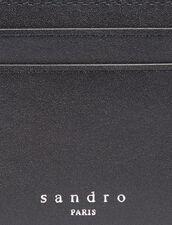 Smooth Leather Card Holder : Card Holders color Black